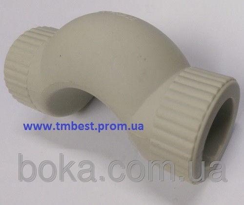 Обвод полипропиленовый(ППР) диаметр 32(короткий).