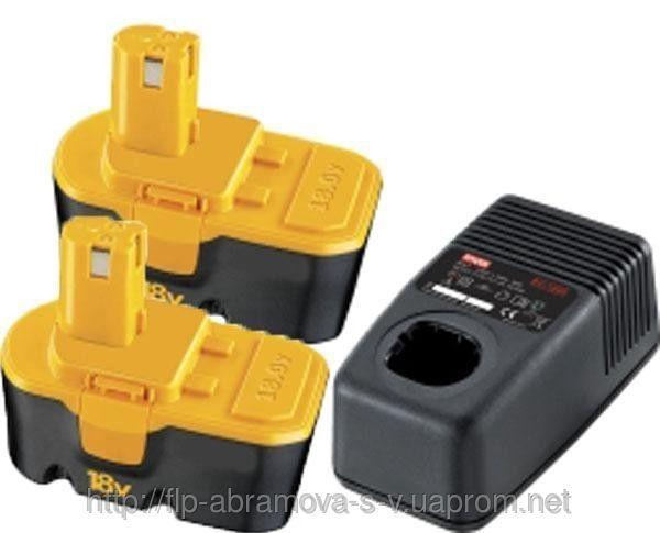 Ryobi BCP 1817/2M зарядное устройство+2аккум.