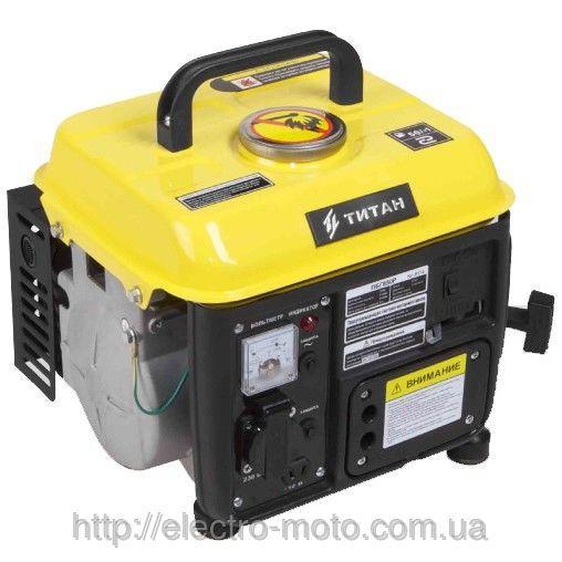 Бензиновый генератор Титан ПБГ850Р