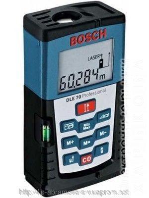 Лазерный дальномер Bosch GLЕ 70 - Строительный измерительный инструмент на рынке Барабашова