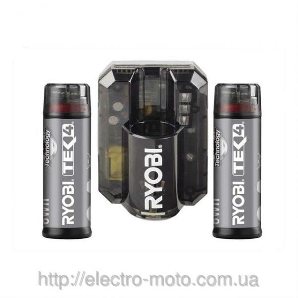 Зарядное устройство и 2 батареи RYOBI AP4021