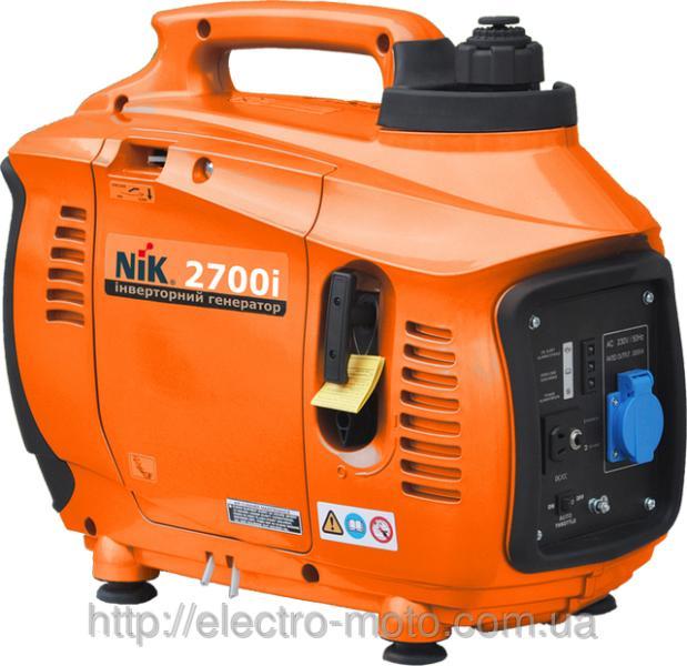 Инверторный бензиновый генератор NIK 2700i