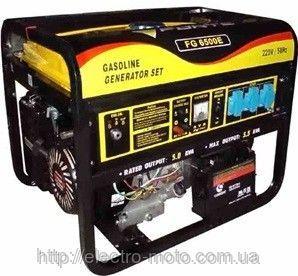 Бензиновая однофазная электростанция Forte FG6500A