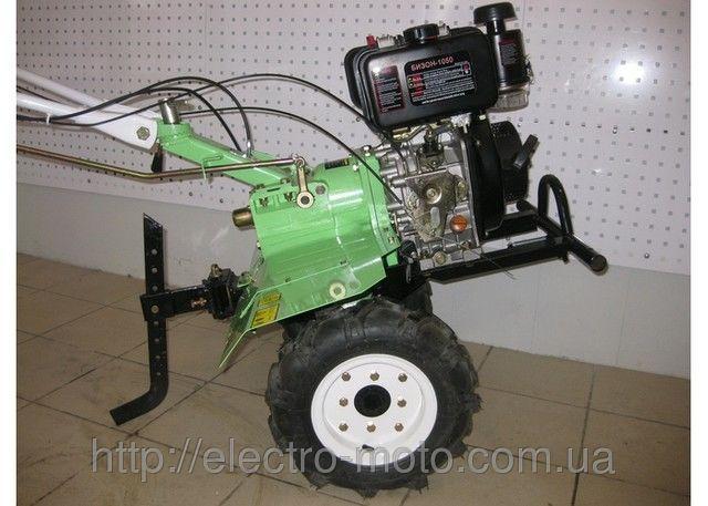 Мотоблок дизельный Бизон 1050