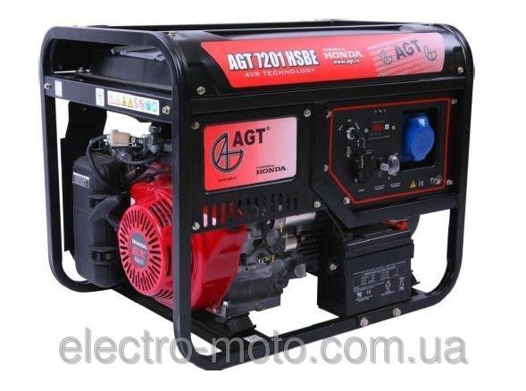 Генератор AGT 7201 HSBE TTI