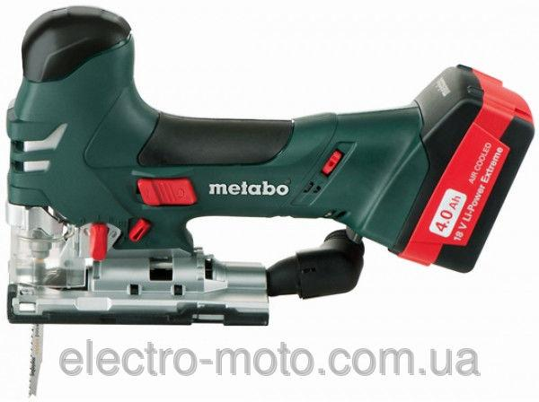Аккумуляторный лобзик Metabo STA 18 LTX 140