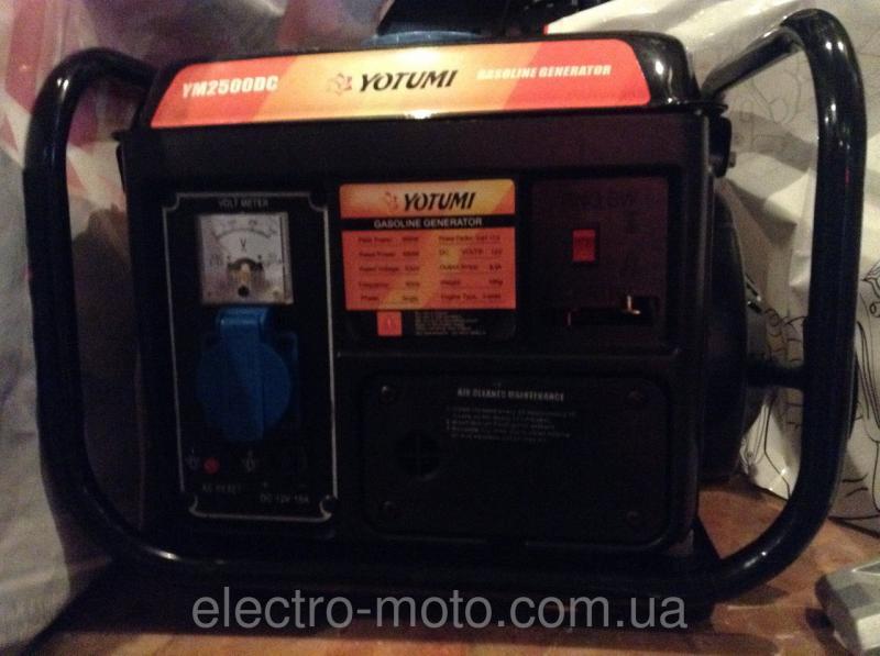 Генератор бензиновый однофазный Yotumi YM2500DC