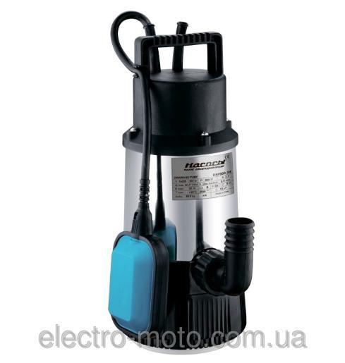 Насосы плюс оборудование Дренажный насос Насосы+оборудование DSP 800-3H