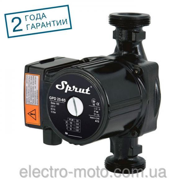SPRUT Циркуляционный насос SPRUT GPD 25/6S-180