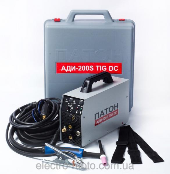 Аппарат для аргоннодуговой / дуговой сварки ПАТОН АДИ-200S DC TIG/MMA