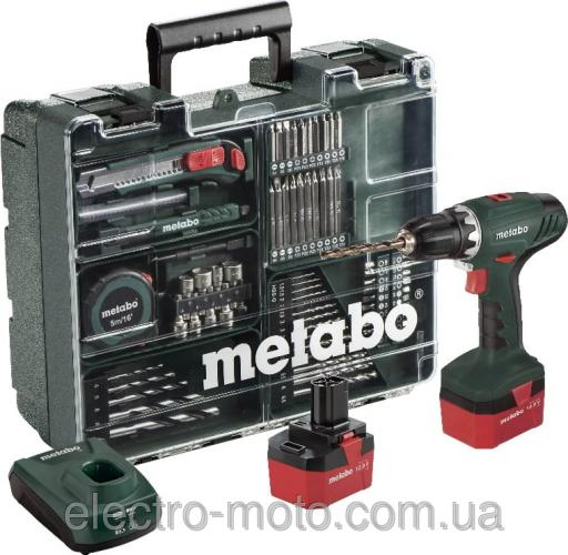 Metabo дрель-шуруповерт аккумуляторная BS 12 NiCd SET