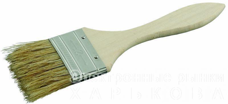 """кисть флейцевая эконом 1""""  - Малярно-штукатурный инструмент на рынке Барабашова"""