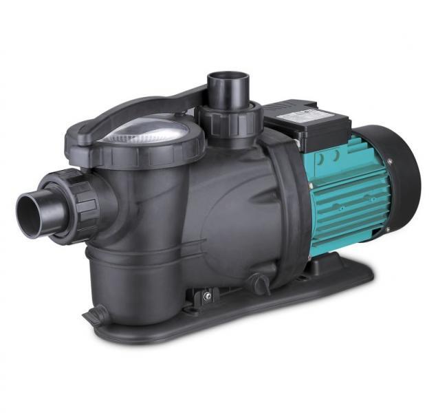 насос для бассейна 1.1кВт Hmax 14.8м Qmax 350л/мин