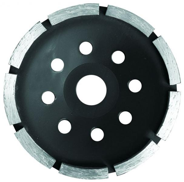 круг алмазный 180мм сегментный шлифовальный (1 ряд)