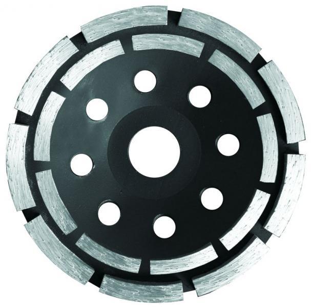 круг алмазный 115мм сегментный шлифовальный (2 ряда)