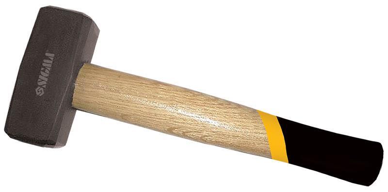 кувалда 800г деревянная ручка (дуб)