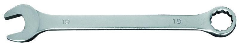 ключ рожково-накидной 21мм CrV head polished