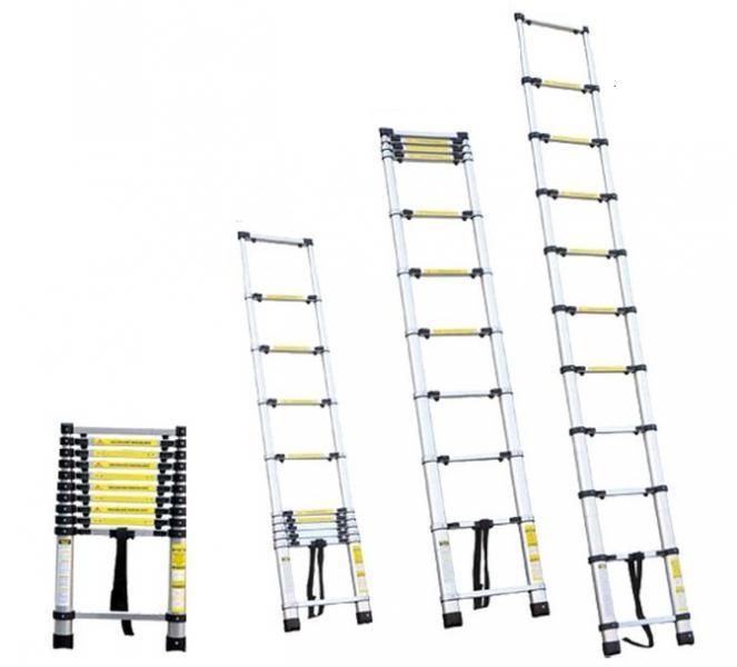 лестница телескопическая 10ступенек 3.2м
