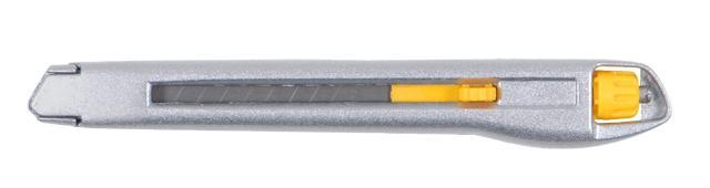 нож металлический корпус лезвие 9мм винтовой замок