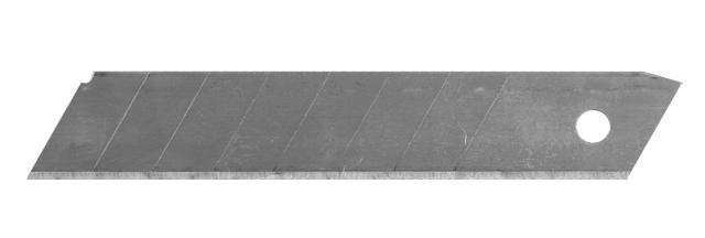 лезвия сменные прямые 18мм 10шт (толщина 0,5мм)