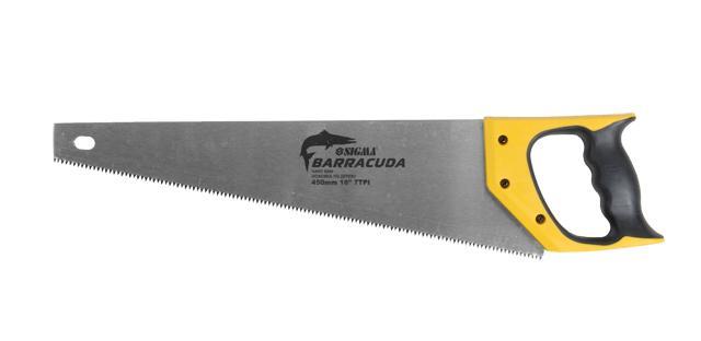 ножовка по дереву 450мм BARRACUDA