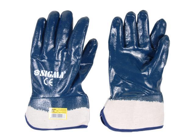 """перчатки трикотажные с полным """"нитриловым"""" покрытием (расклешенные МБС)"""