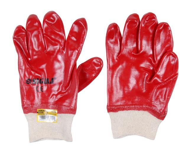 """перчатки трикотажные с полным """"ПВХ"""" покрытием (манжет МБС)"""