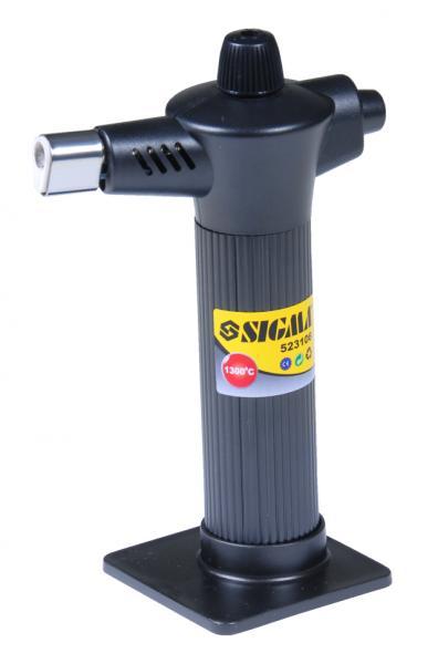 микрогорелка газовая 1300°С пьезозажигание 60мин работы