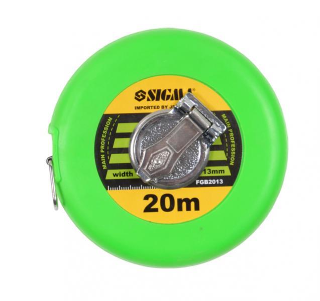 рулетка тряпичная 10м*13мм (стекловолокно)