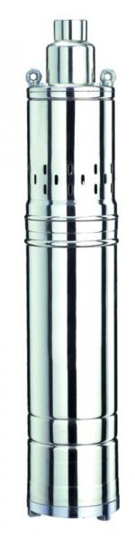 насос шнековый 0.5кВт H 107(51)м Q 40(30)л/мин ?96мм (нерж)