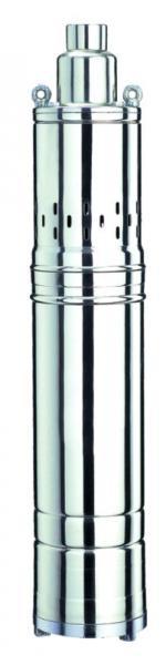 насос шнековый 0.75кВт H 154(76)м Q 30(20)л/мин ?96мм (нерж)