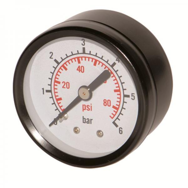 манометр центральный 0-10 бар 50мм