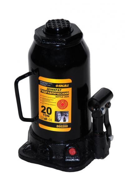 домкрат гидравлический бутылочный 5т H 216-413мм (кейс)