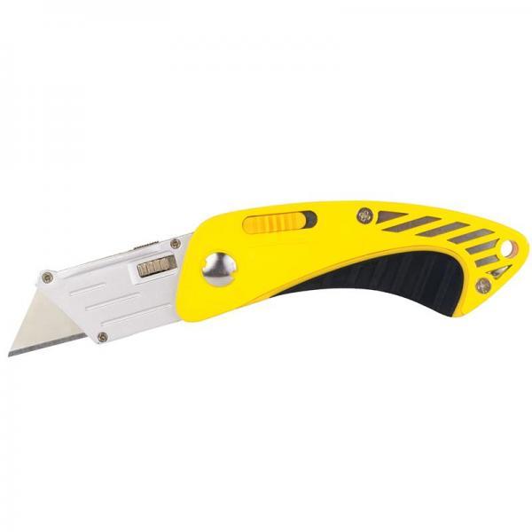 нож-трапеция раскладной обрезиненный