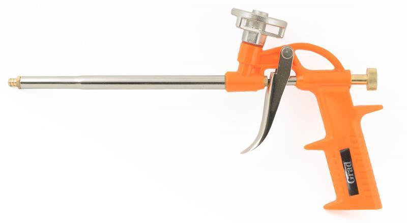 пистолет для полиуретановой пены Standard (пласт корпус) Grad