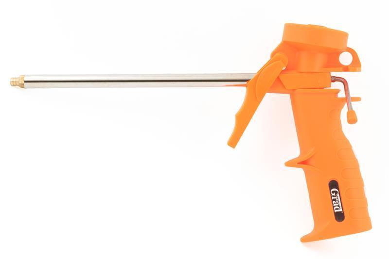пистолет для полиуретановой пены (пласт корпус) Grad