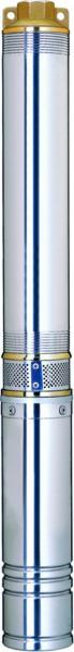 насос центробежный 380В 4.0кВт H 126(70)м Q 270(200)л/мин ?102мм