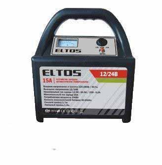 Зарядное устройство ELTOS 15A (12В/24В)