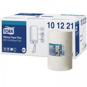 Фото Хозяйственные товары (ЦЕНЫ БЕЗ НДС), Полотенца, простыни бумажные, бумажный протирочный материал Протирочная бумага TORK М1 с центральной вытяжкой