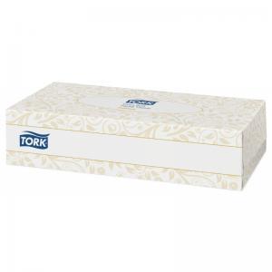 Cалфетки TORK Premium для лица ультрамягкие белые