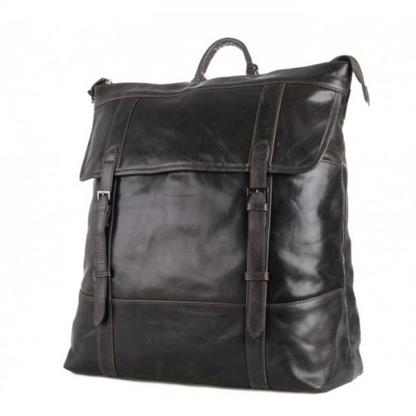 Рюкзак кожаный TIDING BAG 7203J