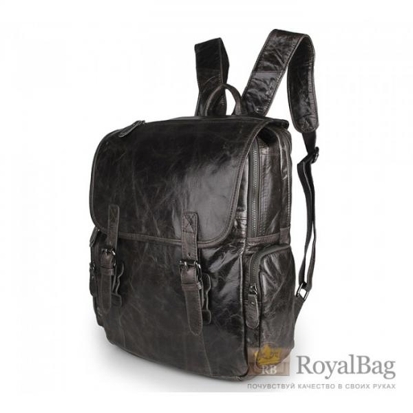 Рюкзак кожаный TIDING BAG 7060J