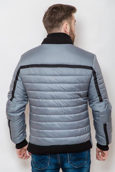 Куртка мужская на синтепоне 2238 (Стальной)