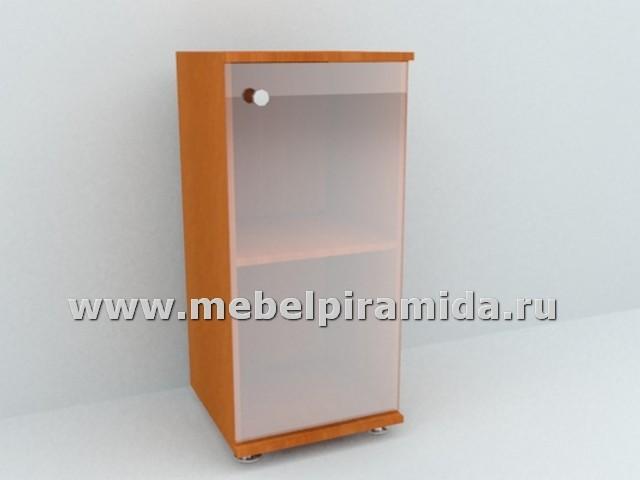 Шкаф со стеклянной дверью А-41(Пирамида)