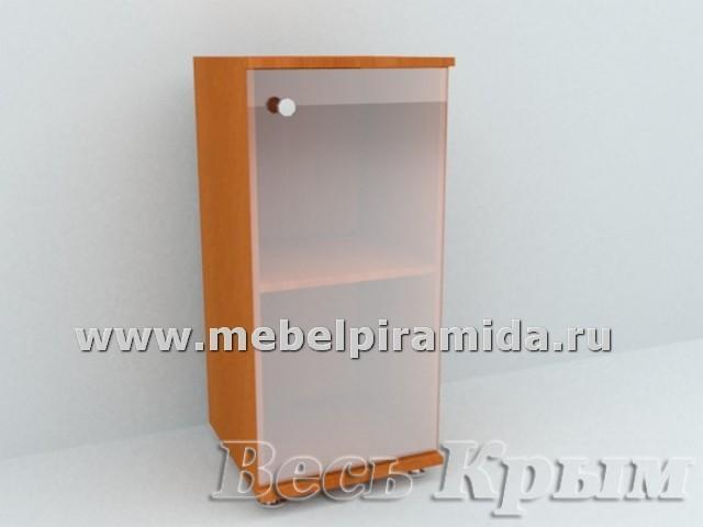 Шкаф со стеклянной дверью А-41(Пирамида) Мебель и фурнитура в Крыму