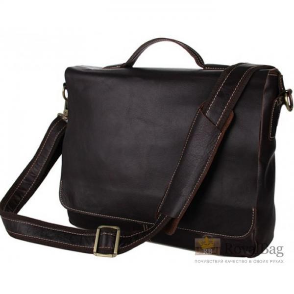 Мужской кожаный портфель TIDING BAG 7108Q
