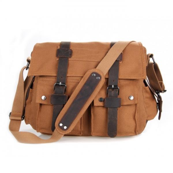 Тканевая сумка через плечо 9002B