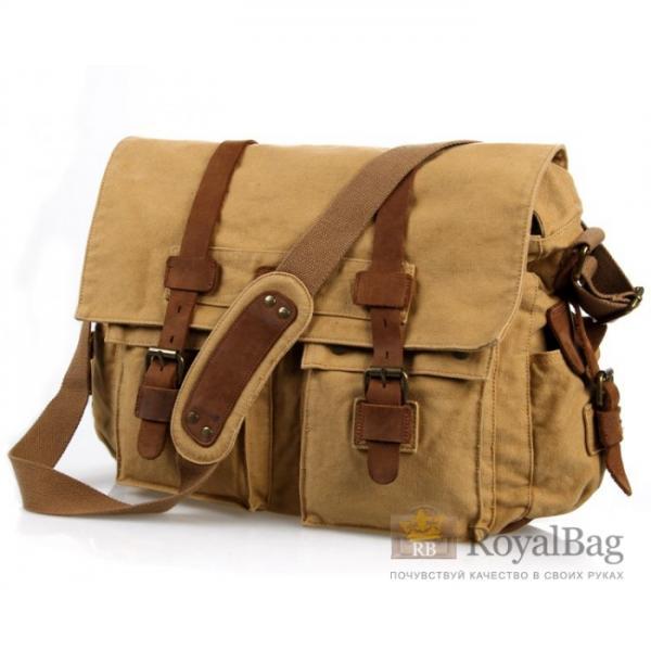 Тканевая сумка через плече Canvas 9005B-1