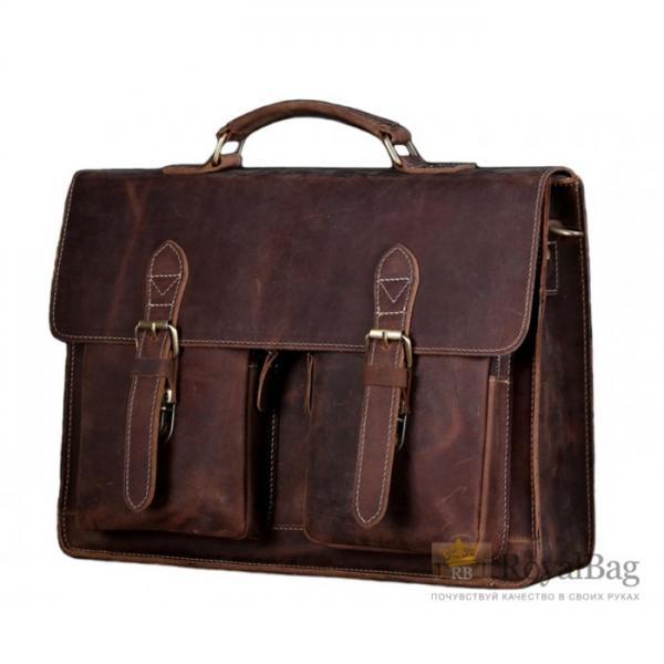 Мужской кожаный портфель BEXHILL BX1061B
