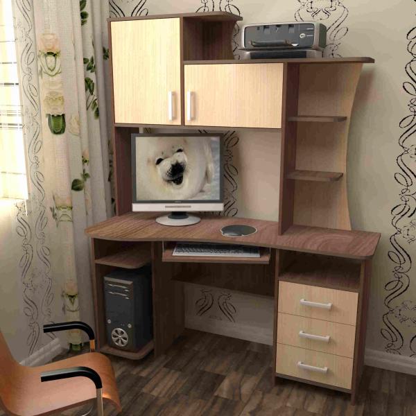 Фото Компьютерные столы Пирамида-Стол компьютерный СК- 19